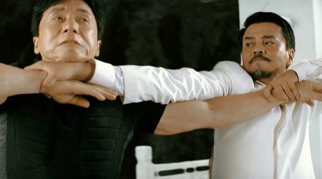 The end fight evolves into a martial arts dance