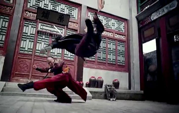 The choreography is very fluid