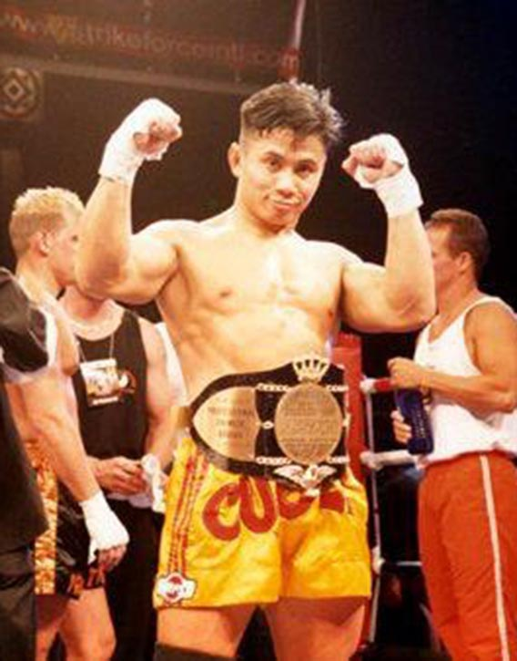 Cung ready for his next Sanda bout