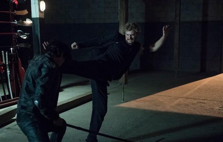 Danny unleashes his kicking skills!