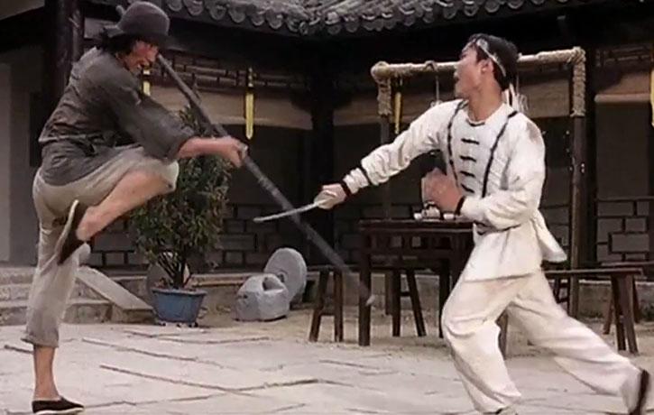 Sword vs Staff