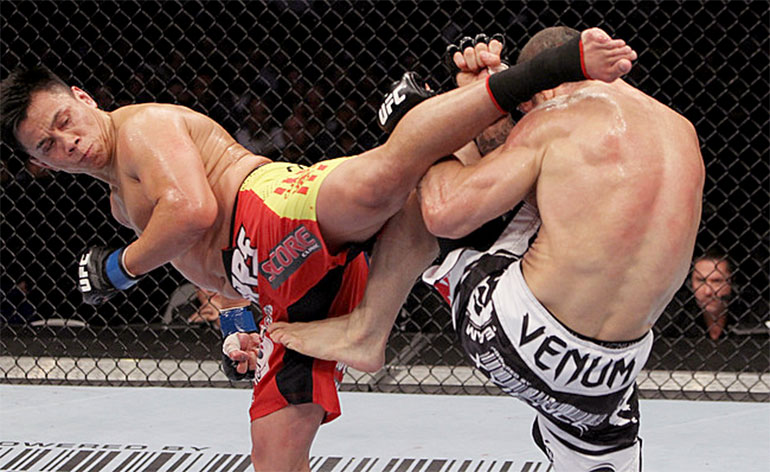 Top 5 MMA Finishes – Cung Le - Kung-Fu Kingdom