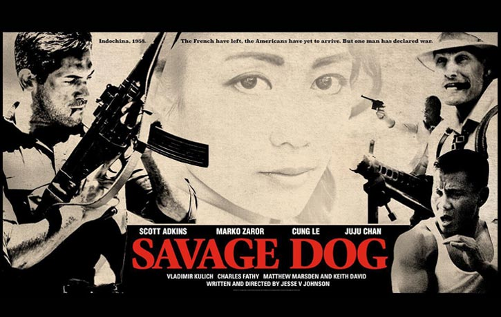 Watch out for Cung Le in Savage Dog alongside Scott Adkins, Marko Zaror, and Juju Chan