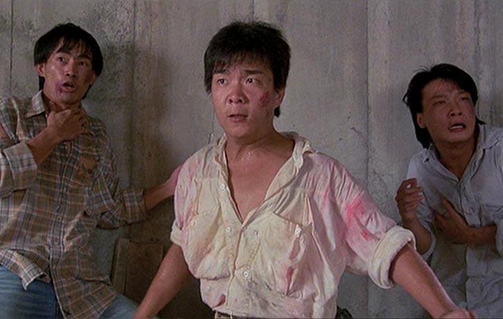 L-R Yuen Wah, Mang Hoi and Chin Ka Lok