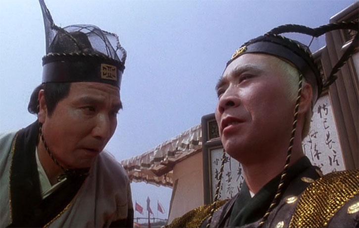 Liu-jin is impressed by Tian-biao's skills