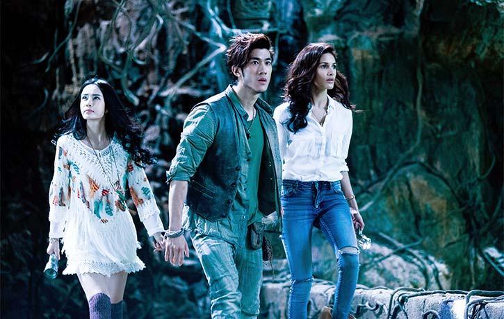 Noumin, Jones and Kyra enter the lost Shiva Temple
