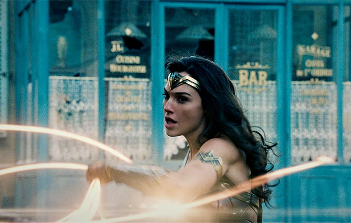 Unleashing her mighty Lasso of Truth