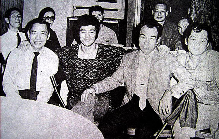 Bruce Lee - The Chin Woo Connection