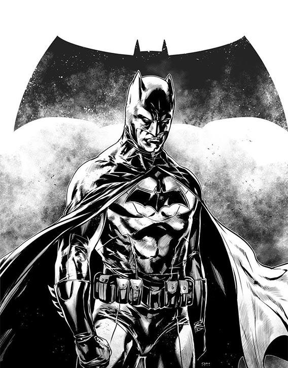 Caanan illustrates The Dark Knight