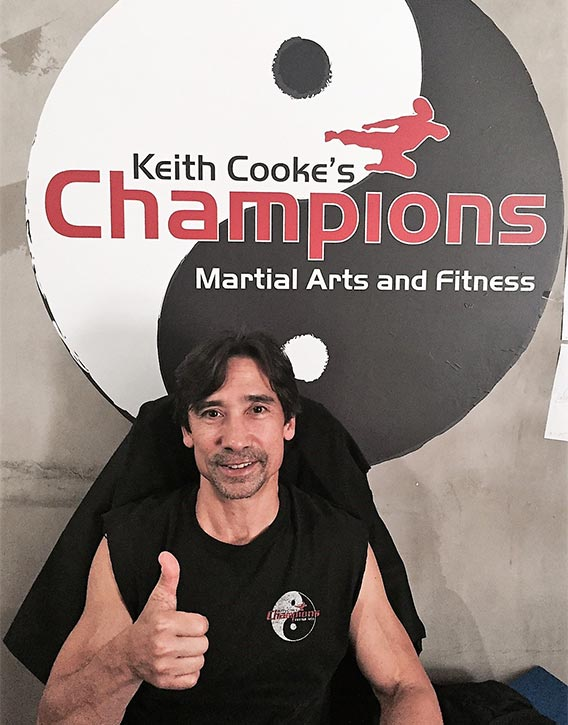 Keith Cooke the humble trainer of champions!