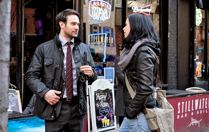 Matt and Jessica know the gritty underbelly of Hell's Kitchen better than anyone