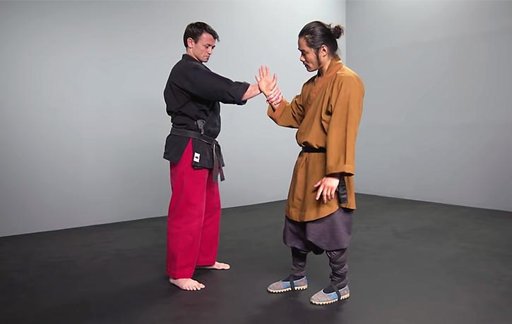 Shifu Wang takes us through a wrist lock escape