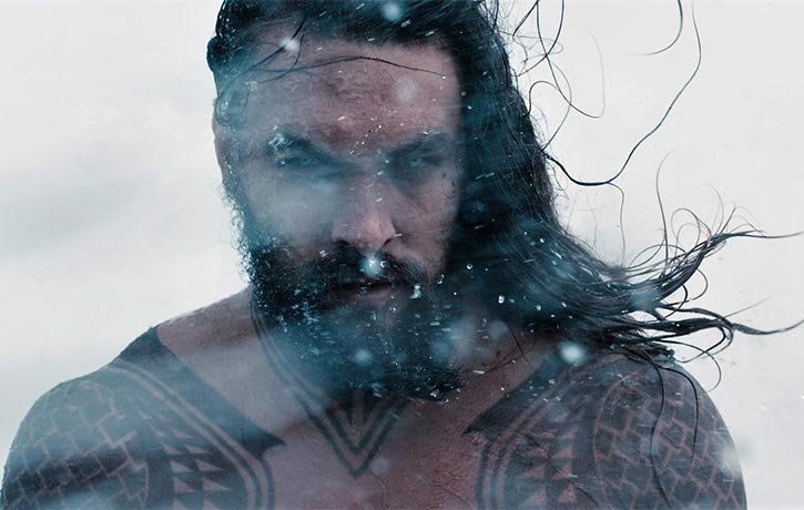 Aquaman in his element on the high seas