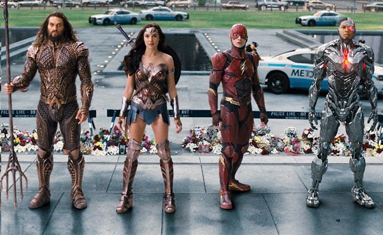 Justice League (2017) - Kung Fu Kingdom