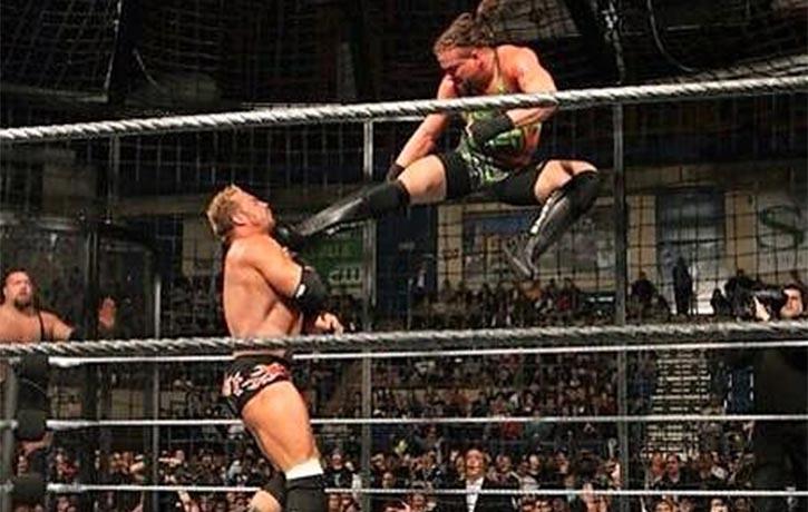 Rob brings his incredible kicking skills to the ring