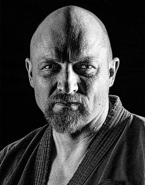 Shihan Gavin Mulholland co-founder Daigaku Karate Kai