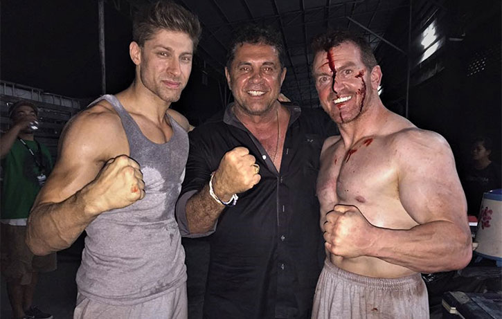 Alain and co are determined to blow you away with Kickboxer Retaliation!