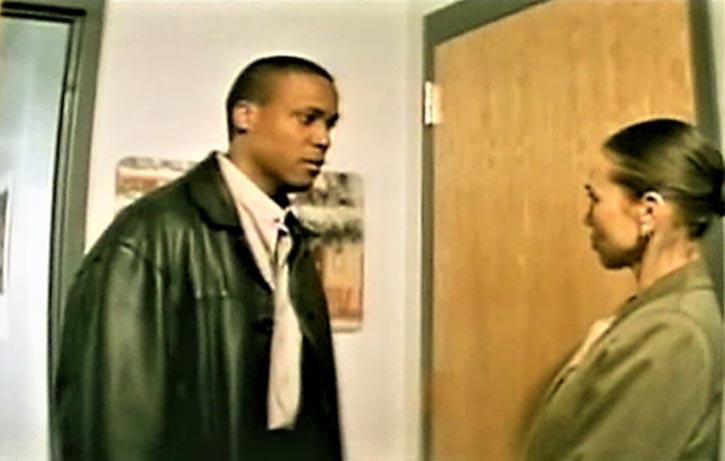 Malik Ali is developing feelings for Dr. Tracey Allen