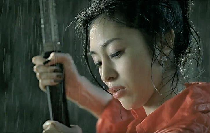 Miho Sasaki prepares to avenge