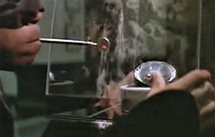 The Black Ninja is forced to commit a diamond heist