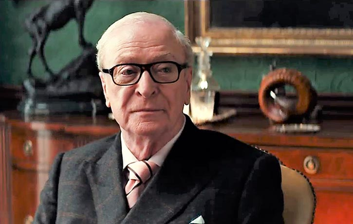 Arthur oversees Kingsman's operations