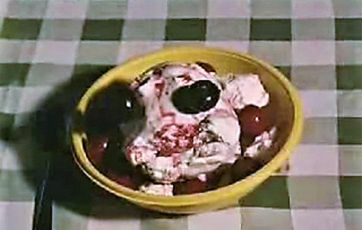 God speaks to Jesus through a bowl of ice cream!