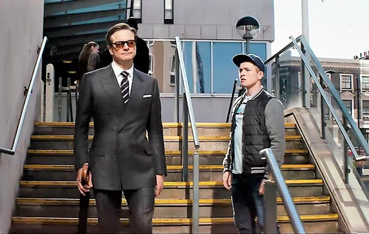 Harry takes Eggsy under his wing