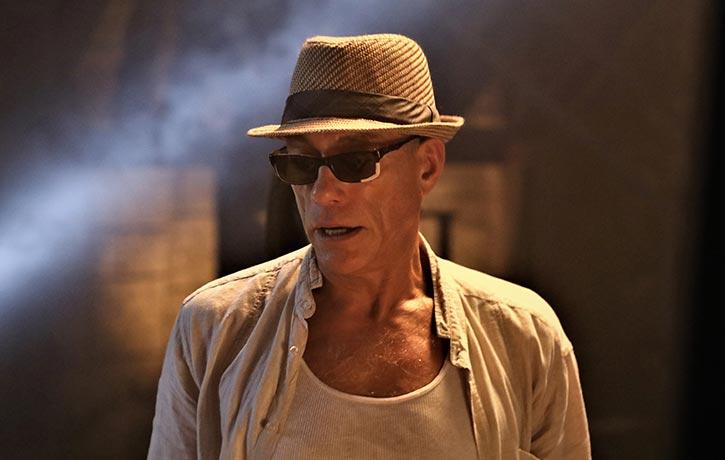Jean-Claude Van Damme plays mentor Durand