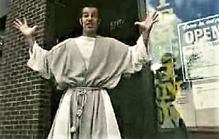 Jesus has a new look!