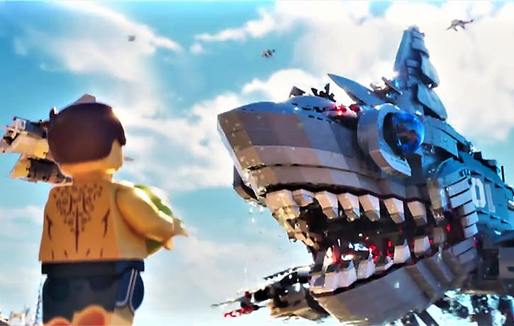 Lord Garmadon has some massive attack vehicles!
