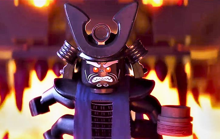 Lord Garmadon will not rest until he's conquered Ninjago