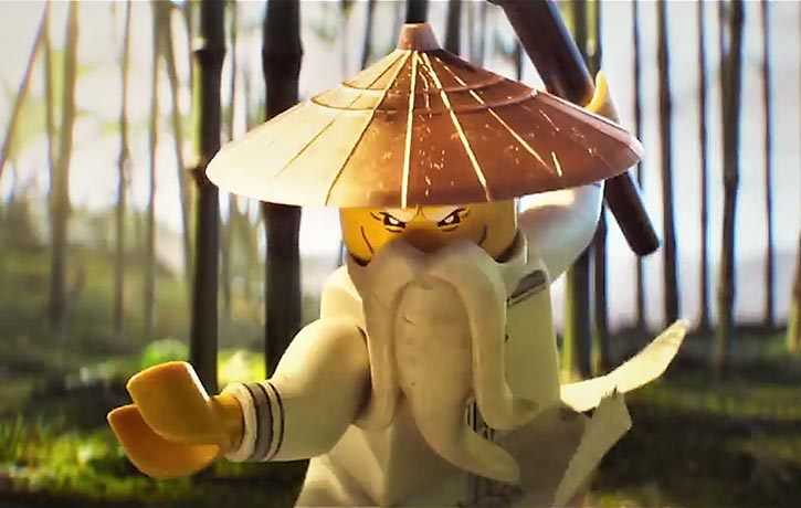 Master Wu is ready to defend Ninjago