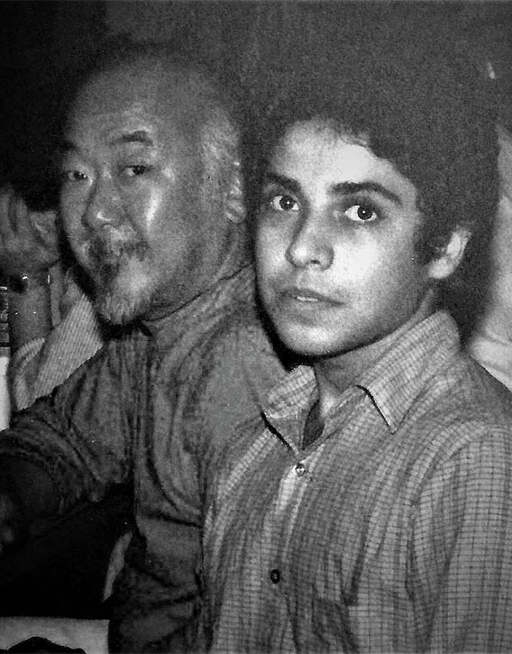 Pat Morita & Kevin Derek back in 1984