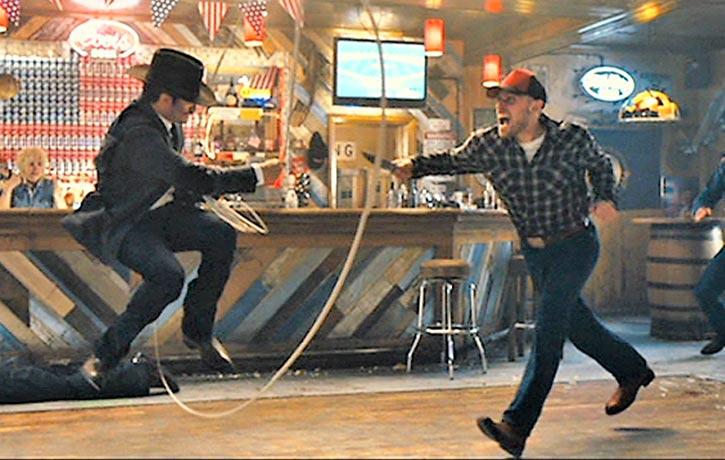 Whiskey lassos up a tough hombre!