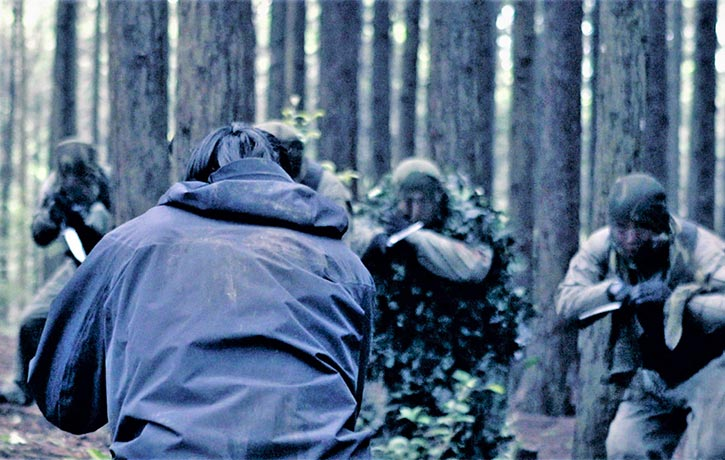 20 min fight sequence in the woods is incredible