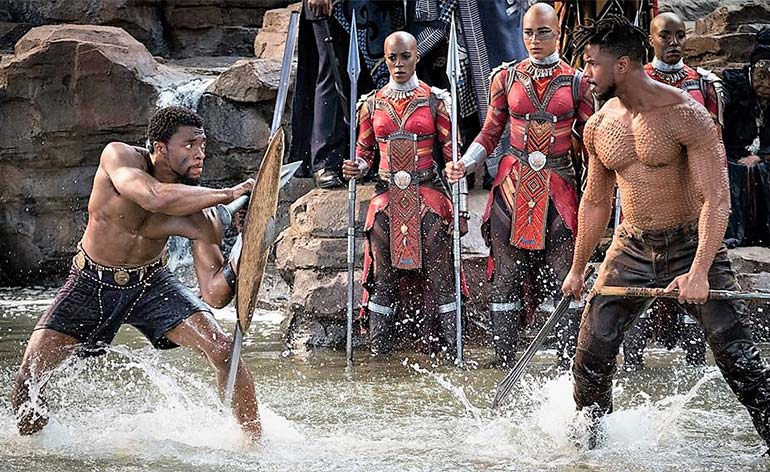 Black Panther (2018) - Kung Fu Kingdom