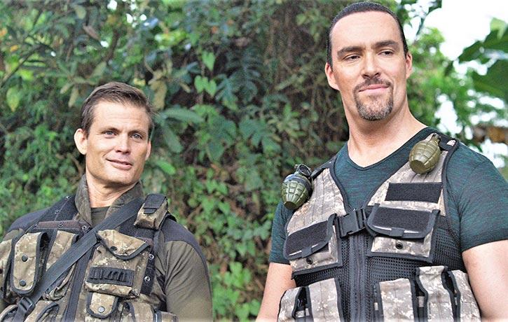 Casper teams up with Russia's Arnold Schwarzenegger, Alexander Nevsky, in Showdown in Manila