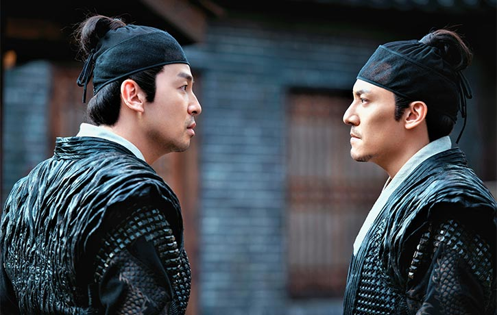 Chang Chen as Shen Lian & Lei Jiaying as Pei Lun