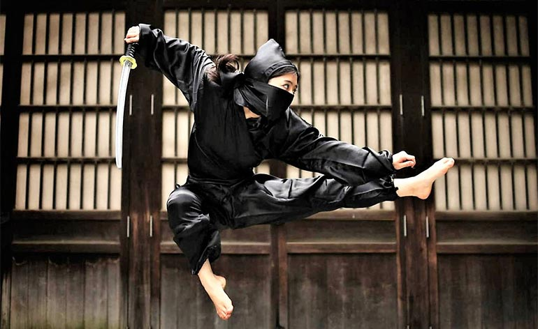 Martial Art of the Month: Ninjutsu