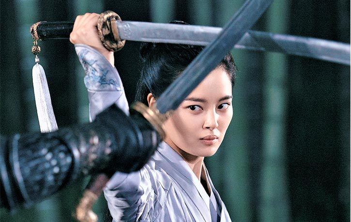 No wuxia film is complete without a fight in a bamboo forest!