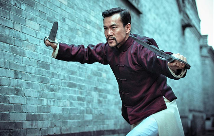 Some of the finest Wing Chun weapons choreography committed to film