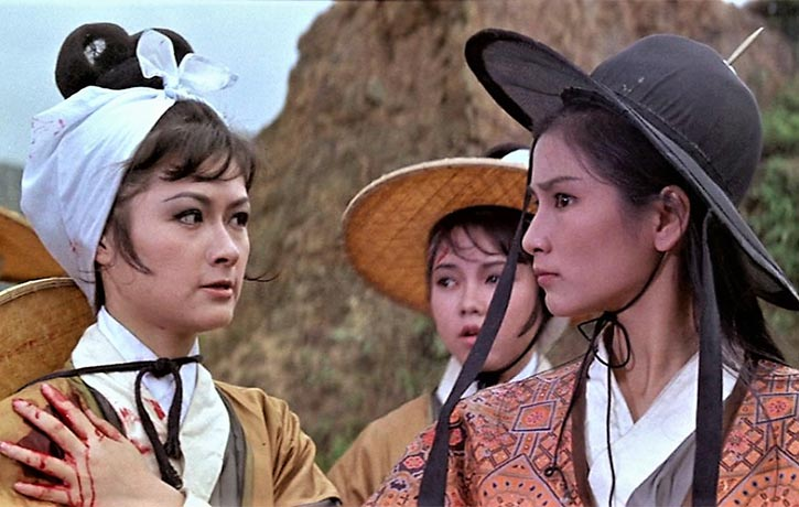 Aged just 20 years old, Cheng Pei Pei is superb as Golden Swallow