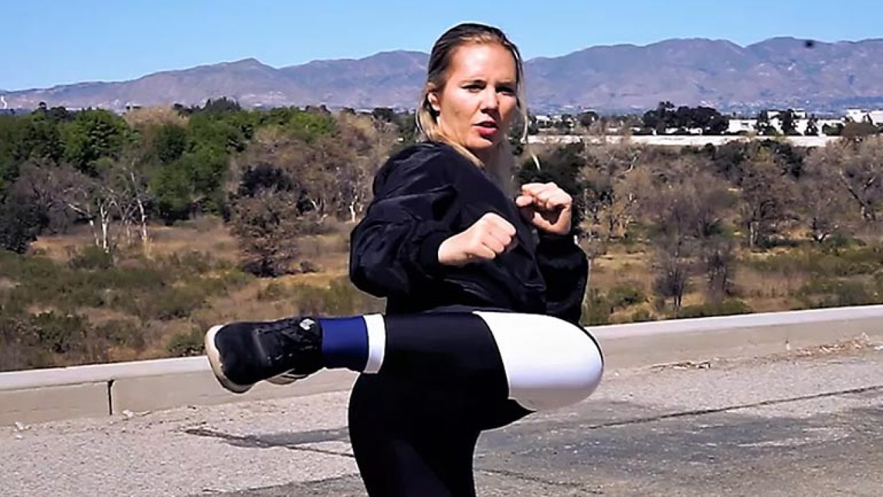 """Amy Johnston amy johnston's new youtube channel """"hero training"""" gets bts!"""