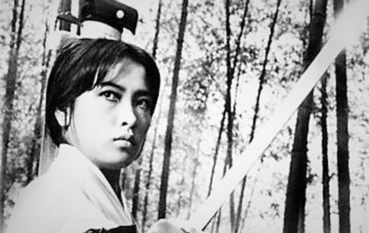 Feng Hsu as Yang is an adept martial heroine