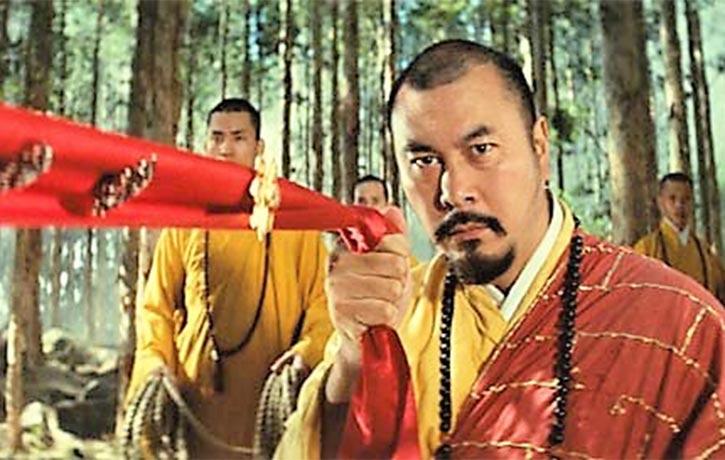 Martial art monk power!