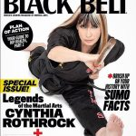 Cynthia graces the cover of Black Belt Magazine