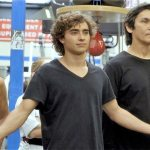 Cynthia with Don The Dragon Wilson and Jansen Panettiere in The Martial Arts Kid