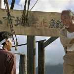 Miyagi teaches Daniel about the drum technique