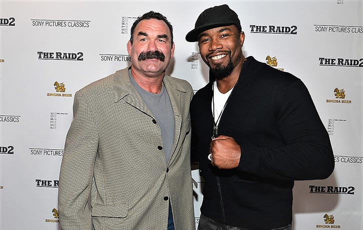 Don Frye with Michael Jai White!
