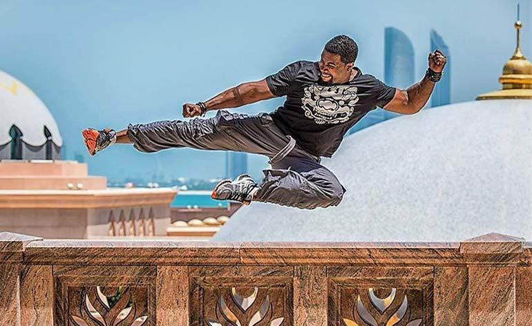 Interview with Michael Jai White - Kung Fu Kingdom